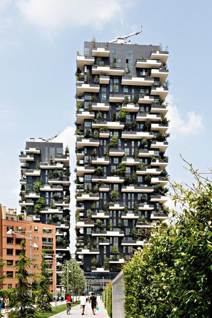 Il bosco verticale grattacielo pi bello al mondo - British institute milano porta venezia ...