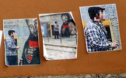 Milano l oltraggio al murale dedicato a falcone e - Commissariato porta ticinese ...