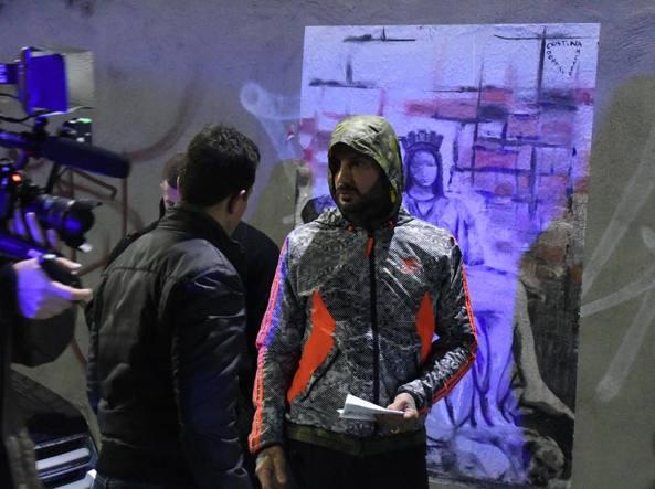 Fabrizio Corona aggredito al Boschetto della droga di Milano