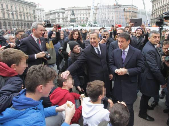 Conte: Milano deve inorgoglire l'Italia