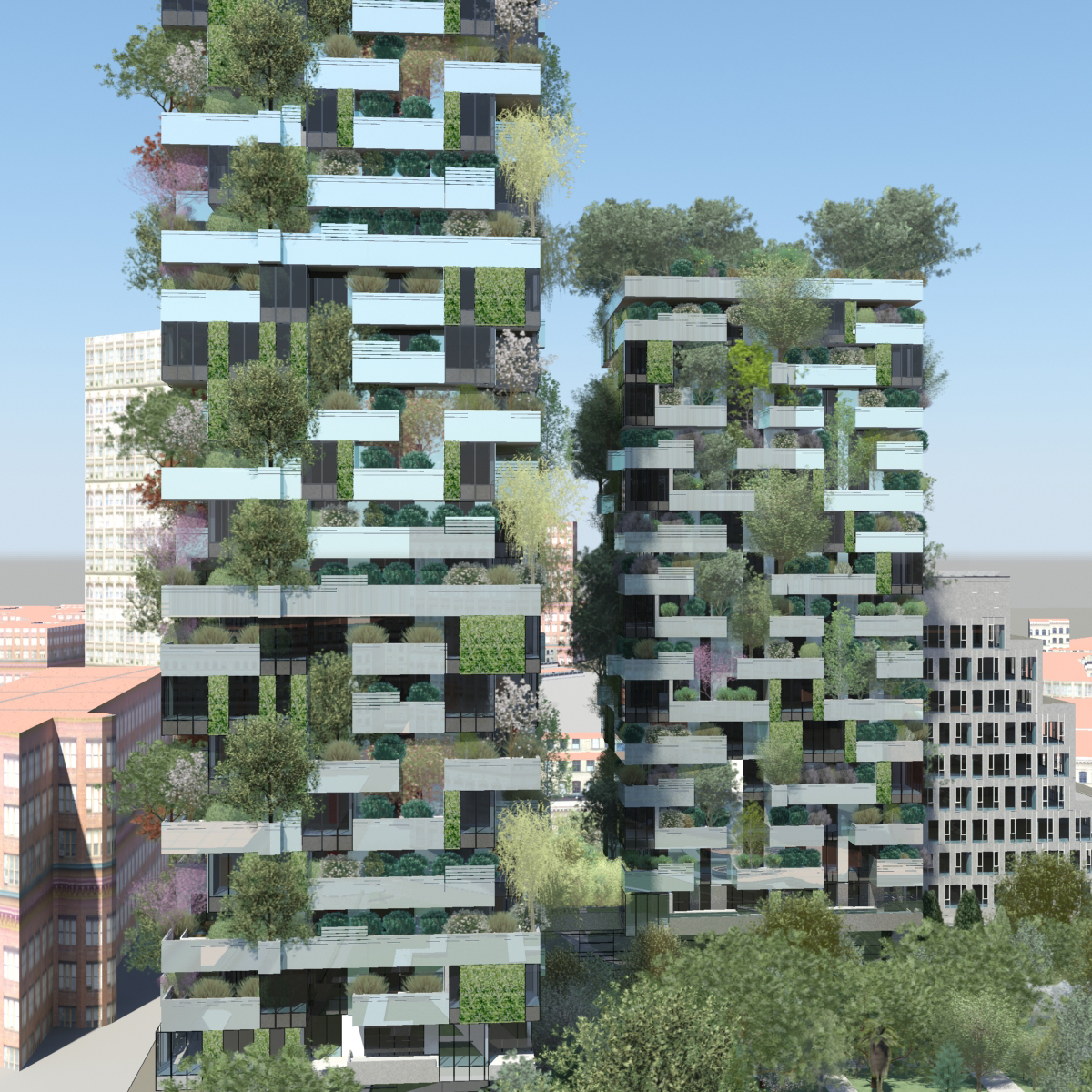 Il bosco verticale grattacielo pi bello al mondo for Giardini verticali milano