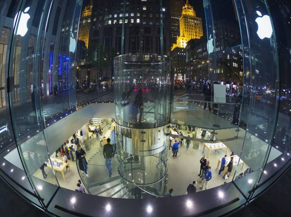 Il megastore Apple a New York
