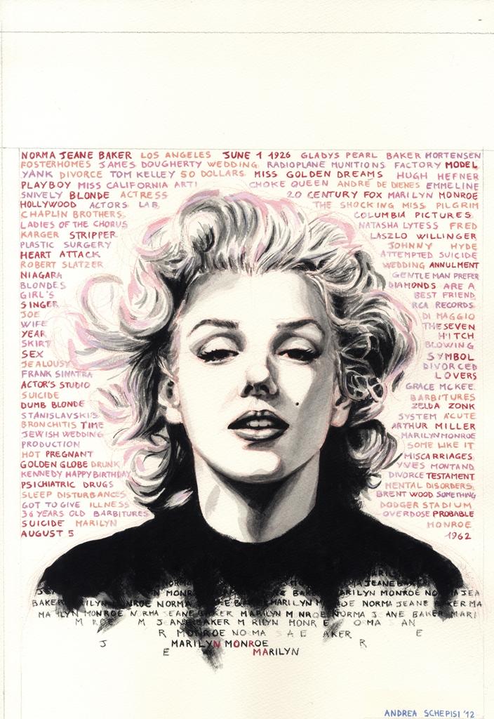 Marilyn mito di bellezza senza tempo for Senzatempo milano