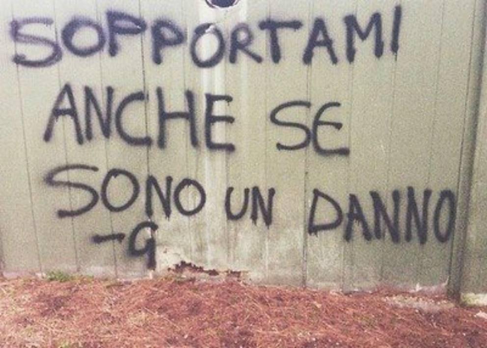 Le Scritte Sui Muri D Italia In Mostra Corriere It