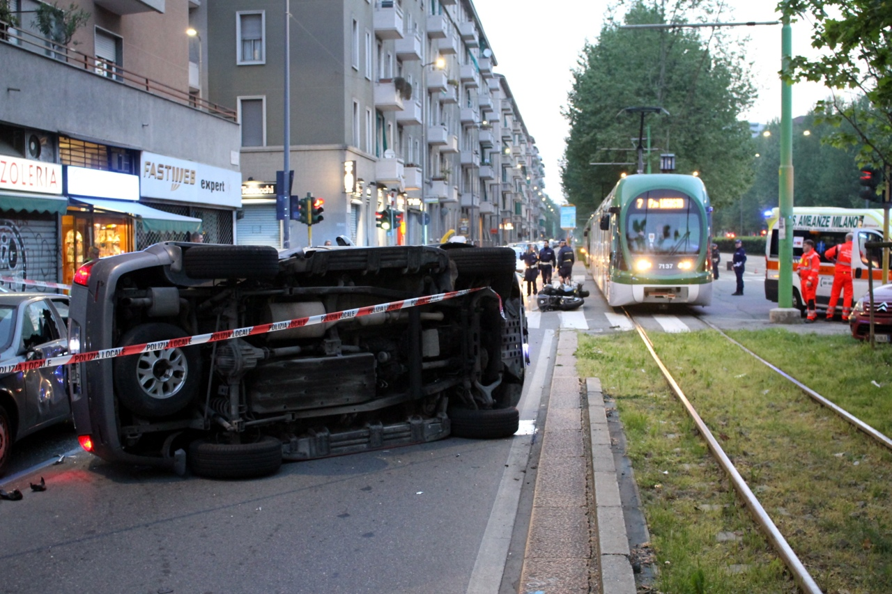 273fb04bbb Incidente in viale Fulvio Testi - Corriere.it