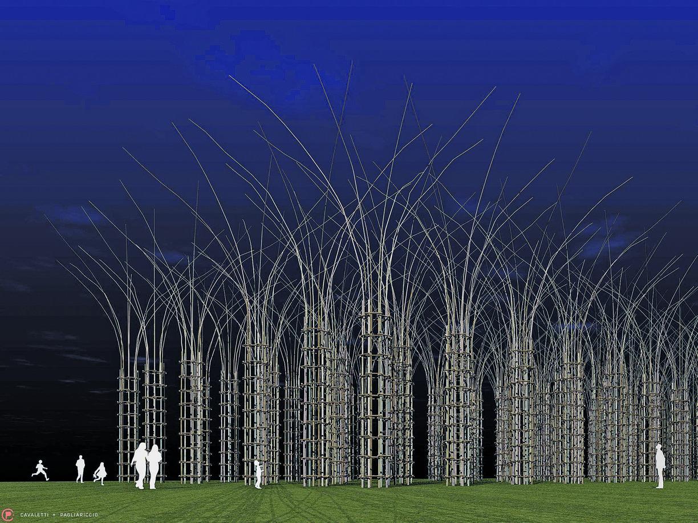 6b5a86f46128 La «Cattedrale vegetale» di querce Pensata per Expo, nasce solo ora -  Corriere.it