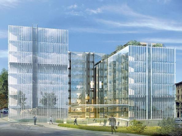 Ufficio Nuovo Hotel : Quartiere di vetro a porta nuova così rinascono i palazzi tecnimont