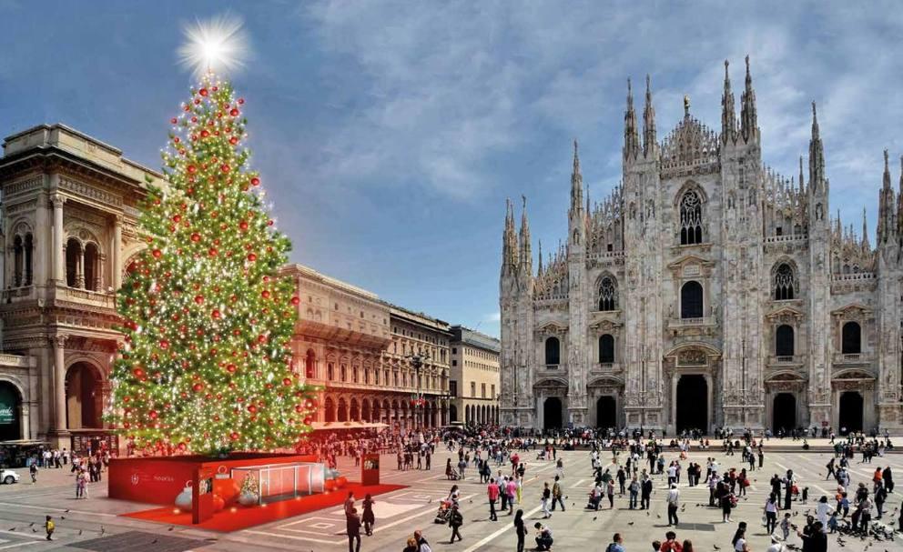 Albero Di Natale Milan.Ecco Joy L Albero Di Natale Corriere It