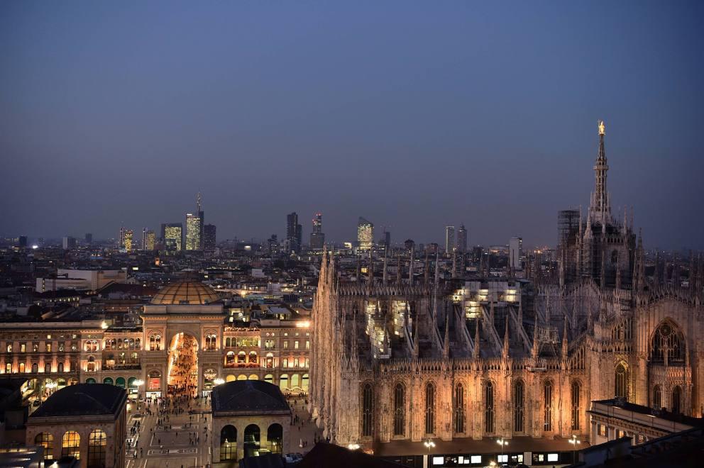 Il tramonto (mozzafiato) con vista sul Duomo dalla Terrazza Martini ...