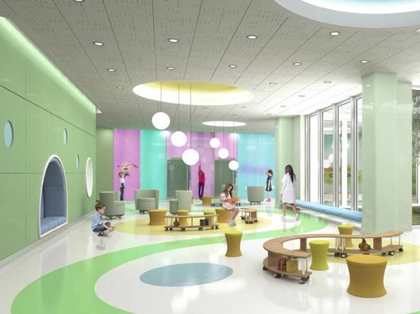 L\'ospedale dei bambini dove i muri cambiano colore - Corriere.it