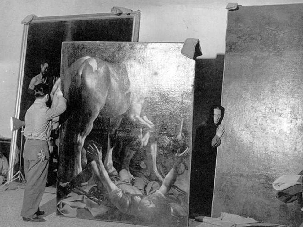 Risultati immagini per mostra milano caravaggio e i caravaggeschi 1951