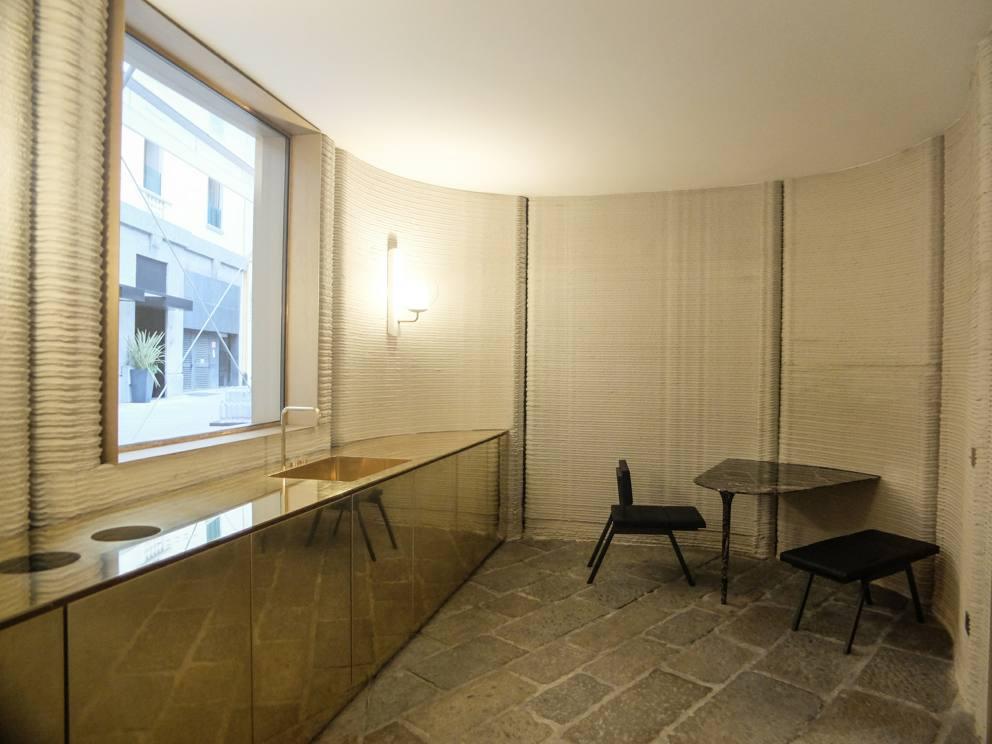 Milano La Prima Casa Di Cemento Stampata In 3d Debutta In