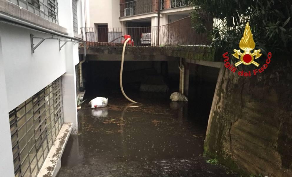 Bomba Dacqua A Legnano Allagamenti