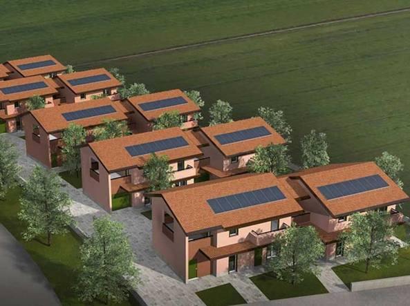 Parete Di Legno Cruciverba : Pavia il quartiere in legno dove abitano ecologia e risparmio