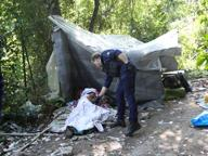 Malore al «Boschetto della droga»: un 25enne stroncato da overdose