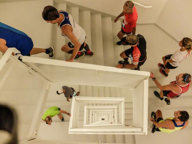 Allianz Running, la corsa tutta in verticale