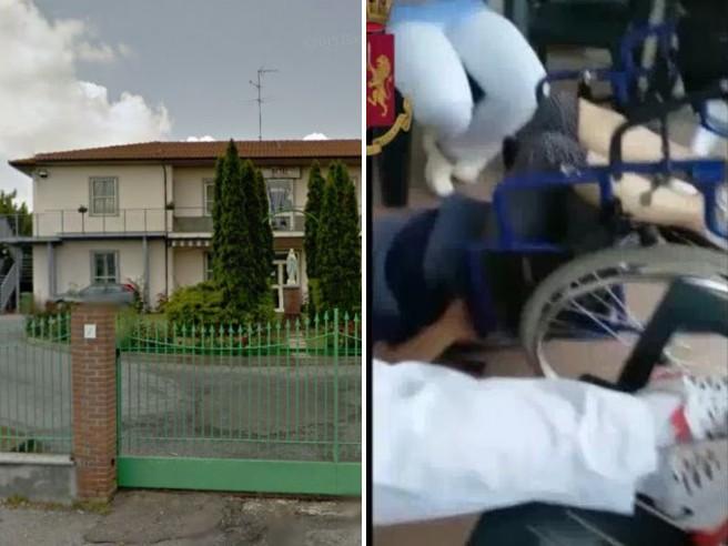 Anziani picchiati e umiliati: 2 arrestiA testa in giù con l