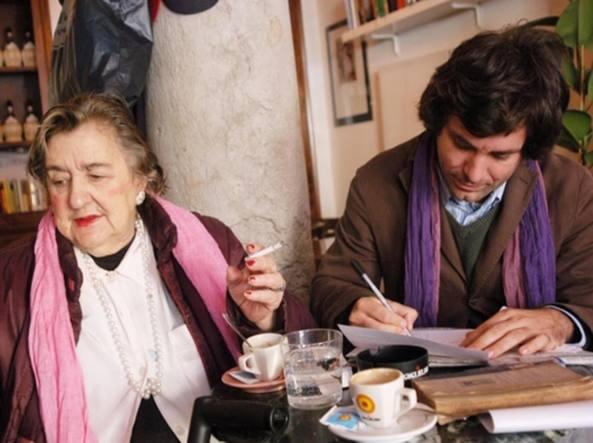 Alda Merini e Arnoldo Mosca Mondadori