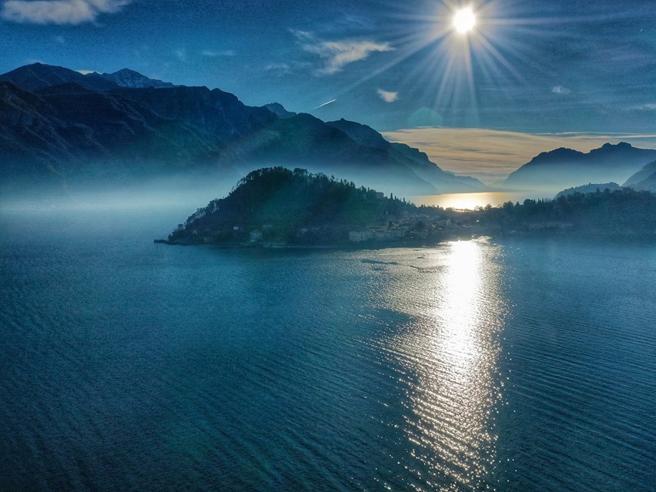 La magia di Bellagio: la perla del Lago di Como vista dall'alto