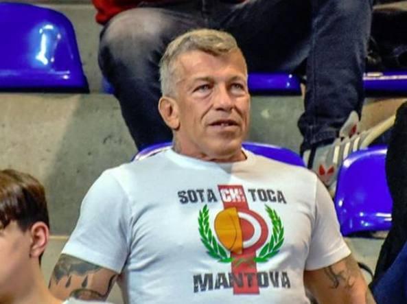 Il consigliere mantovano FdI Luca de Marchi (da Facebook)
