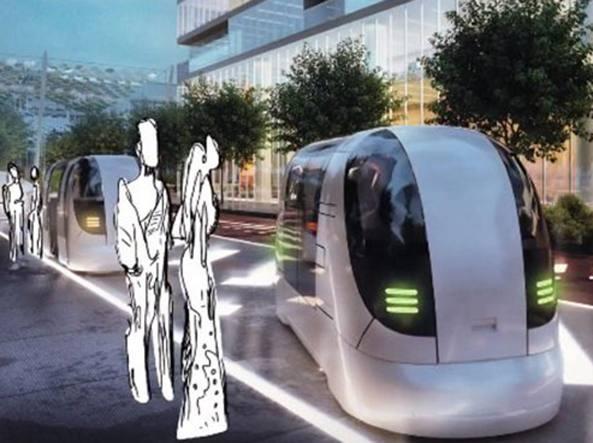 La città del futuro nell'area di Expo: arriva la prima auto senza guidatore