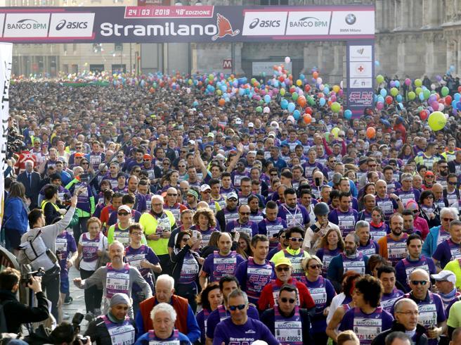 Stramilano 2019, oltre 60mila runner invadono le strade del centro in festa. Sala: «Città pronta per le Olimpiadi»