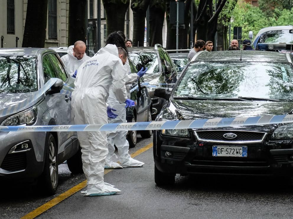 Le foto della sparatoria in Via Cadore a Milano - Corriere.it