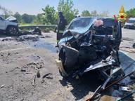 Incidente stradale sulla Paullese, scontro fra auto: due feriti e un morto