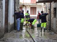 Bomba d'acqua nell'Oltrepò Pavese: esondato il torrente Nizza