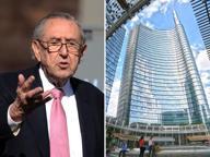 È morto César Pelli, l'architetto che ridisegnò Porta Nuova a Milano