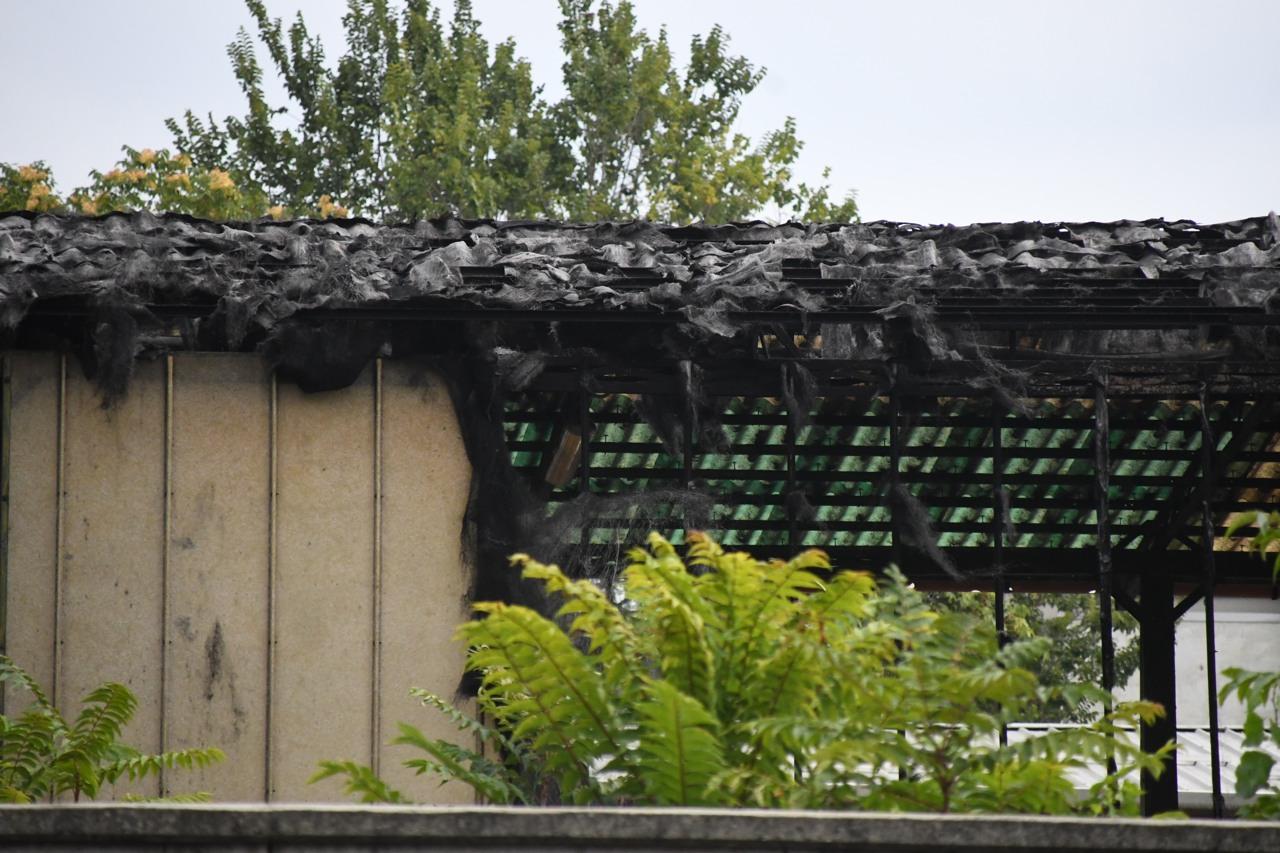 Incendio al deposito atm di precotto for Www presotto it