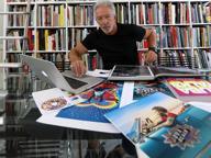Il guru dei colori vola con Jovanotti: «E ora a Linate portiamo il mare»