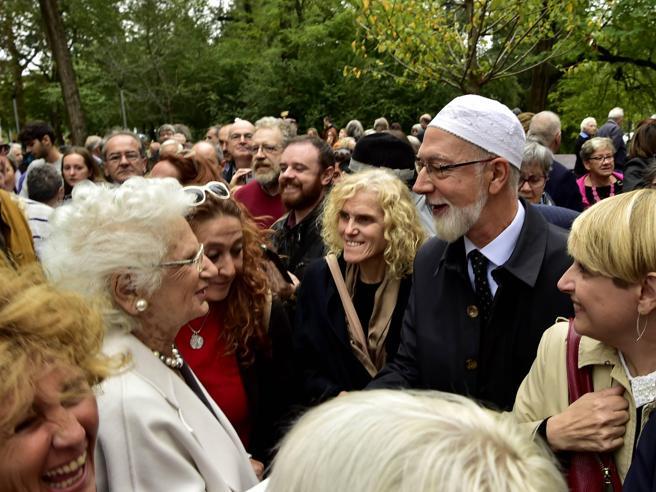 Segre inaugura il Giardino dei Giusti: «Sono stati un dono per l'umanità»