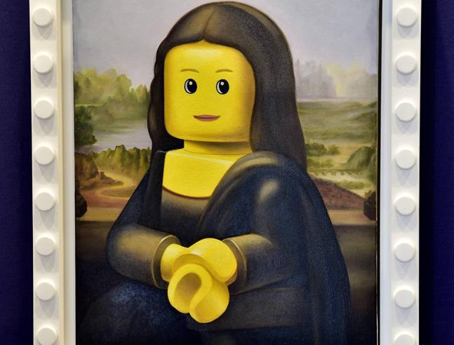 «I love Lego» al museo della  Permanente di Milano, dai grattacieli alla Gioconda: città e opere d'arte rifatte con i mattoncini