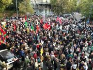 Manifestazione di protesta davanti al consolato turco: «Erdogan assassino»