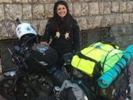 Elena Axinte e il giro del mondo in moto: «Viaggiare è la mia vita»