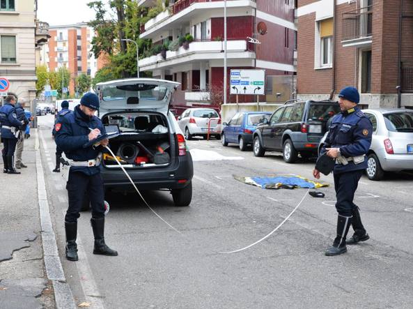 L'incidente mortale a Varese (Newpress)