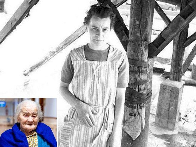 Maria Salti, l'ultima lavandaia del vicolo sul Naviglio Grande