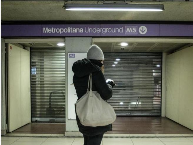 Milano, al via lo sciopero Atm: ferma la linea 5 del metrò,  regolari le altre