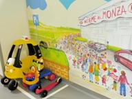 Ospedale di Desio, terminata la ristrutturazione del reparto di neuropsichiatria infantile