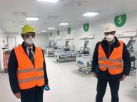 Coronavirus, l'ospedale dei record inaugurato in Fiera. Fontana: «Simbolo della nostra ripresa»