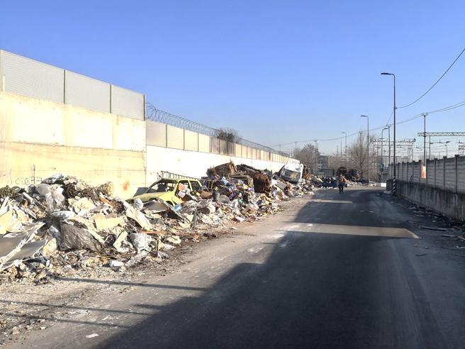 San Siro, Bonfadini e Lorenteggio:filmati e multati scaricatori di rifiuti