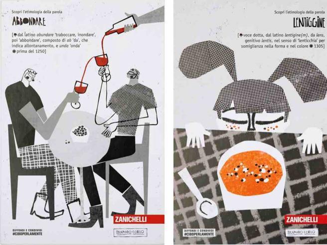 Zingarelli #ciboperlamente: un milione di cartoline per raccontare la bellezza della lingua italiana