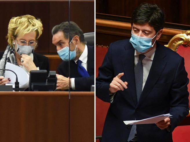 Rt in Lombardia, Moratti vs Speranza: «Voleva che ci attribuissimo l'errore»