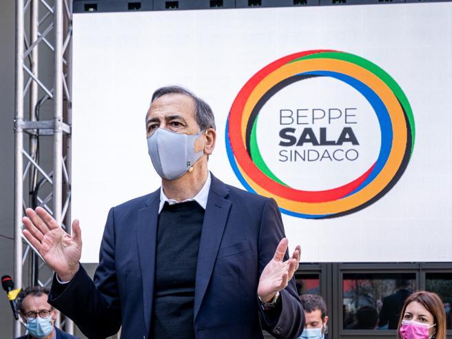 Sala parte avanti ad Albertini e Lupi «Crisi Covid, c'è voglia di rilancio»