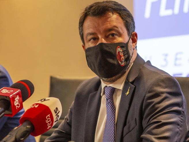 Salvini: «I no vax fuori dalla Lega? Non siamo caserma, ogni idea è rispettabile»