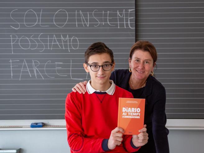 Milano, l'alunno e la prof: il diario del lockdown diventa un libro