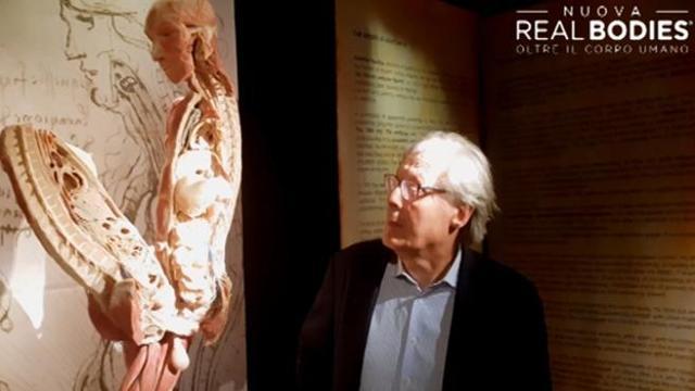Risultati immagini per real bodies sgarbi leonardo