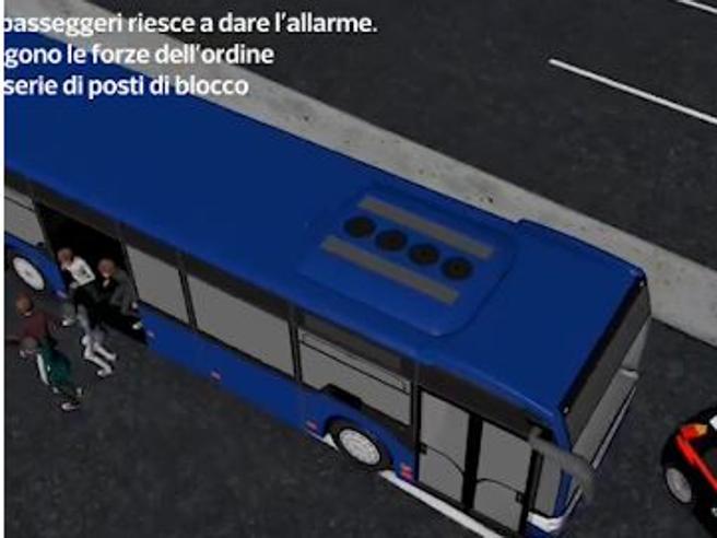 Da Crema a Milano, 40 minuti di paura per 51 ragazzini delle medie  nel bus preso in ostaggio da Ousseynou Sy