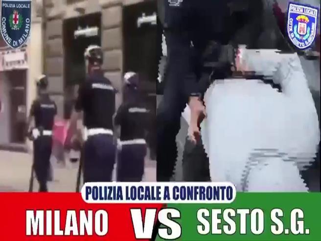 Il sindaco di Sesto ironizza sui vigili di Milano in monopattino: il video con la musica dei Chips